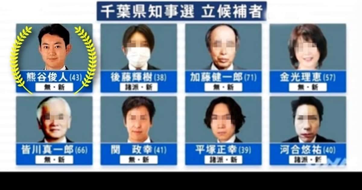 千葉県知事選、自民党敗北